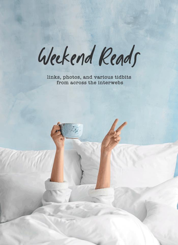 Weekend Reads: 11.1.2019