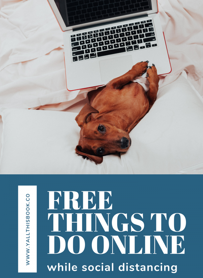 Free Things To Do Online While Social Distancing